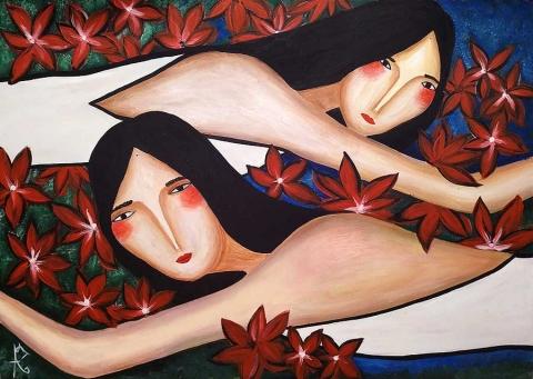 Марина Бадмаева. Пространство взгляда.