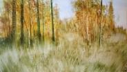 Виктория Винокурова. Осенний лес.