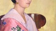 Борис Кустодиев. Портрет Елены Ивановны Грековой. 1920. Холст, масло. 57 х 44.