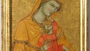 Мадонна с Младенцем. 1320-1340 гг. Дерево, темпера.