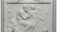 Бертель Торвальдсен (1770‒1844) Амур у Анакреонта мрамор 49х66 см