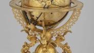 Механический небесный глобус. Прибор после реставрации Германия, Аугсбург, 1584 г. Мастера Георг Ролль, Иоганн Рейнгольд.