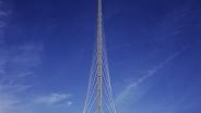 Мост через канал Хофдварт. Харлеммермер, Нидерланды. 1999-2004 гг. Сантьяго Калатрава.