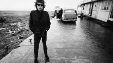 Bob Dylan, Aust Ferry, Bristol, England, 1966.
