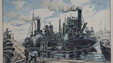 Петроград в 1921 году.