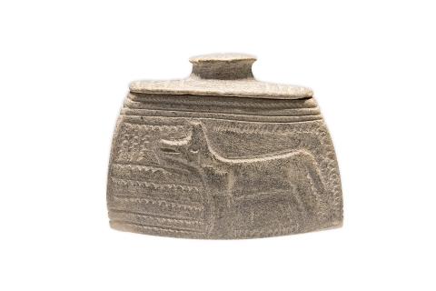 Сосуд. Стеатит. 1200–800 гг. до н. э.