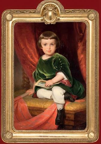 Портрет графа Николая Шереметева.